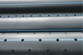 Perforated HDPE